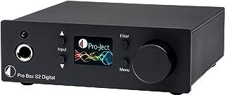 Pro Ject Pre Box S2 Digital, Audiophiler Stereo Vorverstärker (Schwarz)