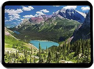Glacier National Park, Montana - Lakes on The Grinnell Glacier Trail 9021545 (Keepsake Tin)