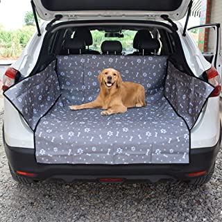 Car Boot Liner Protector, Universal Waterproof Cargo Liner Car Boot Protection Hammock Pet Dog Rear Back Seat Cover Mat wi...