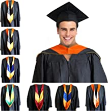 GRADWYSE Master of Engineering Master Hood M.Eng. Orange Graduation Master Degree Hood, Various College Colors Available