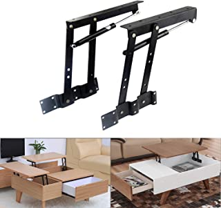 Best Sauton Sauton 1pair Folding Lift up Top Table Mechanism Hardware Fitting Hinge, Gas Hydraulic Lift up Table Mechanism Review