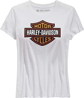 HARLEY-DAVIDSON Women's Logo Tee, White