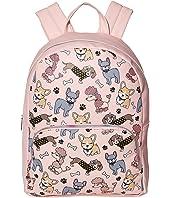 Mixed Animal Print Large Backpack