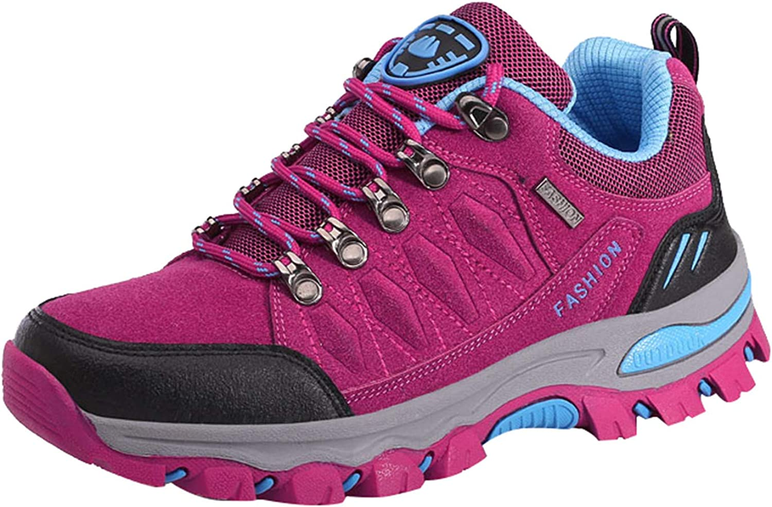 Ladies Outdoor Hiking Shoes Non-Slip Wear-Resistant Female Hiking Shoes Thick-Soled Waterproof Travel Shoes