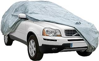 Cover+ Funda Exterior Premium para Renault Espace DE 2015, Impermeable, Doble Capa sintética y de Finas trazas de algodón ...