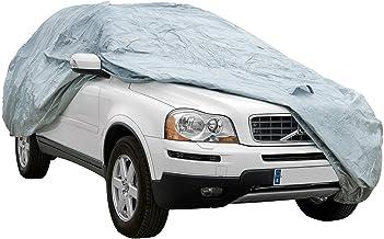 Funda exterior premium para Subaru OUTBACK, impermeable, doble capa sintética y de finas trazas de algodón por el interior, transpirable para evitar la condensación en el parabrisas.
