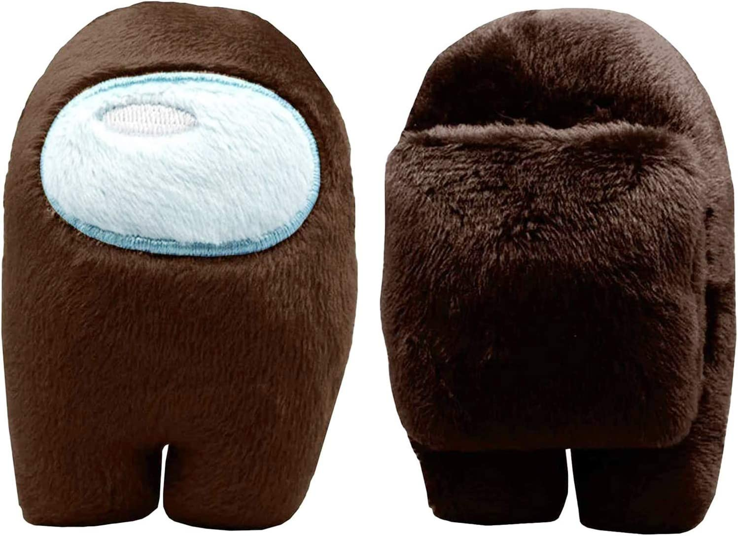 4.3 inch Soft for Game Fans Crewmate Astronaut Doll Stuffed Game Toy 1pc Among Us Plush Toy Blue