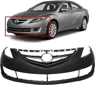 MBI AUTO - Primered, Front Bumper Cover Fascia for 2009-2013 Mazda 6 09-13, MA1000222