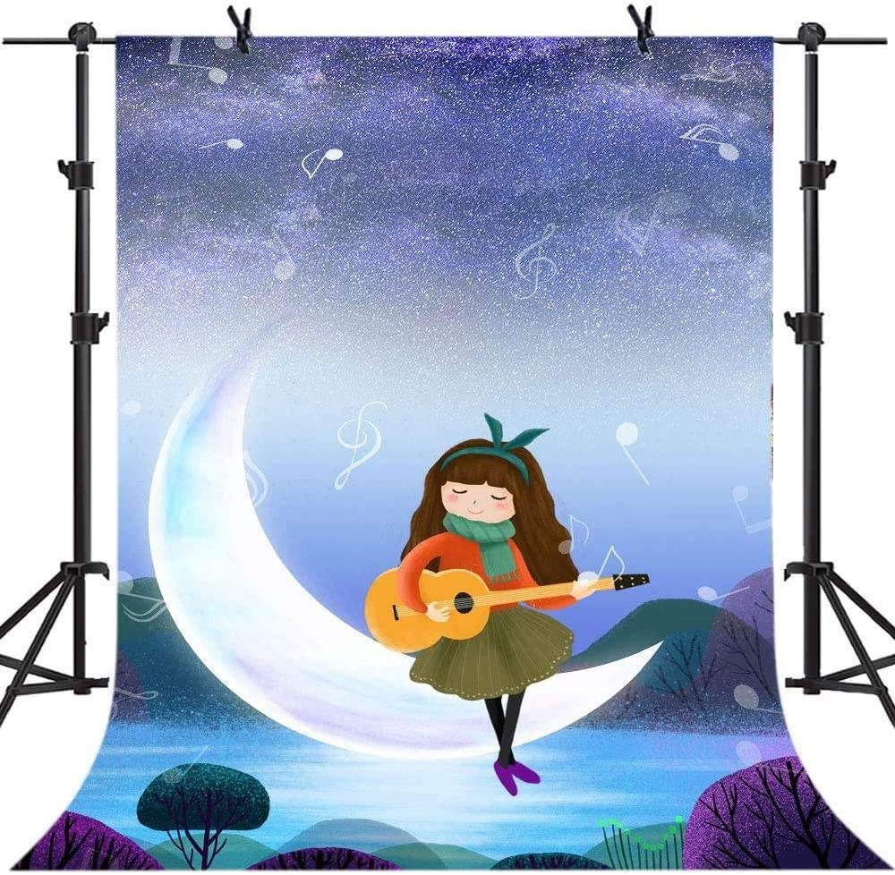 Zhy Halloween Backdrop 5X7FT Pumpkin Head Bats Spider Web Wizard Background for Photographer Vinyl Photo Backdrop for Kids Studio Shoot Props GEEV060