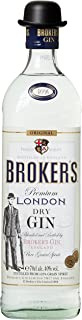 Brokers Gin Premium London Dry Gin 40% vol. 1 x 0.7 l