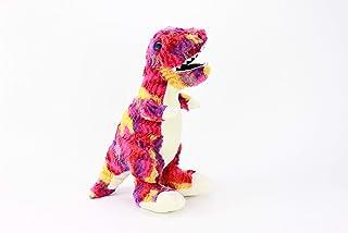 Gitzy Tie Dye Stuffed Dinosaur Toy - Stuffed Animal for Kids - Plush Tyrannosaurus Rex