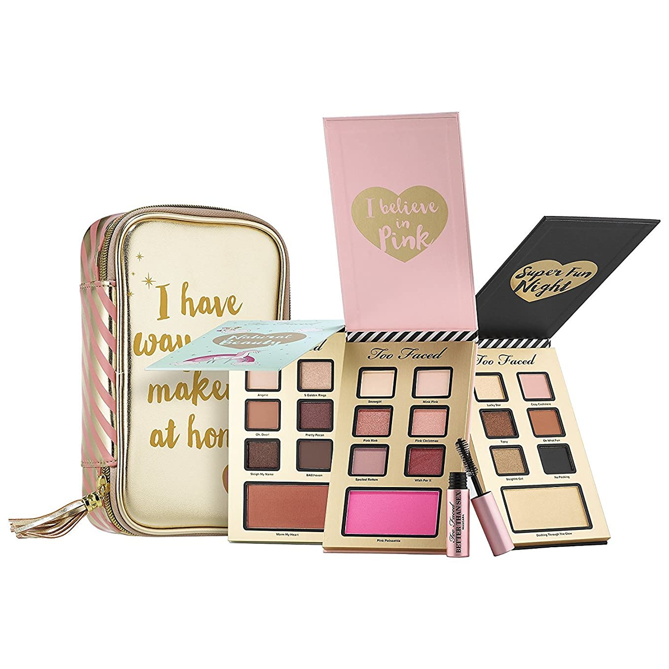 タイプおなかがすいたバイパスTOO FACED Best Year Ever Makeup Collection Limited Edition
