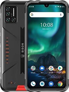 UMIDIGI BISON SIMフリースマートフォン本体 Android 10 タフネススマホ本体 6GB RAM +128GB ROM UFS 2.1 LPDDR4X IP68/IP69K防水 防塵 耐衝撃 6.3 FHD+フルスクリーン ...