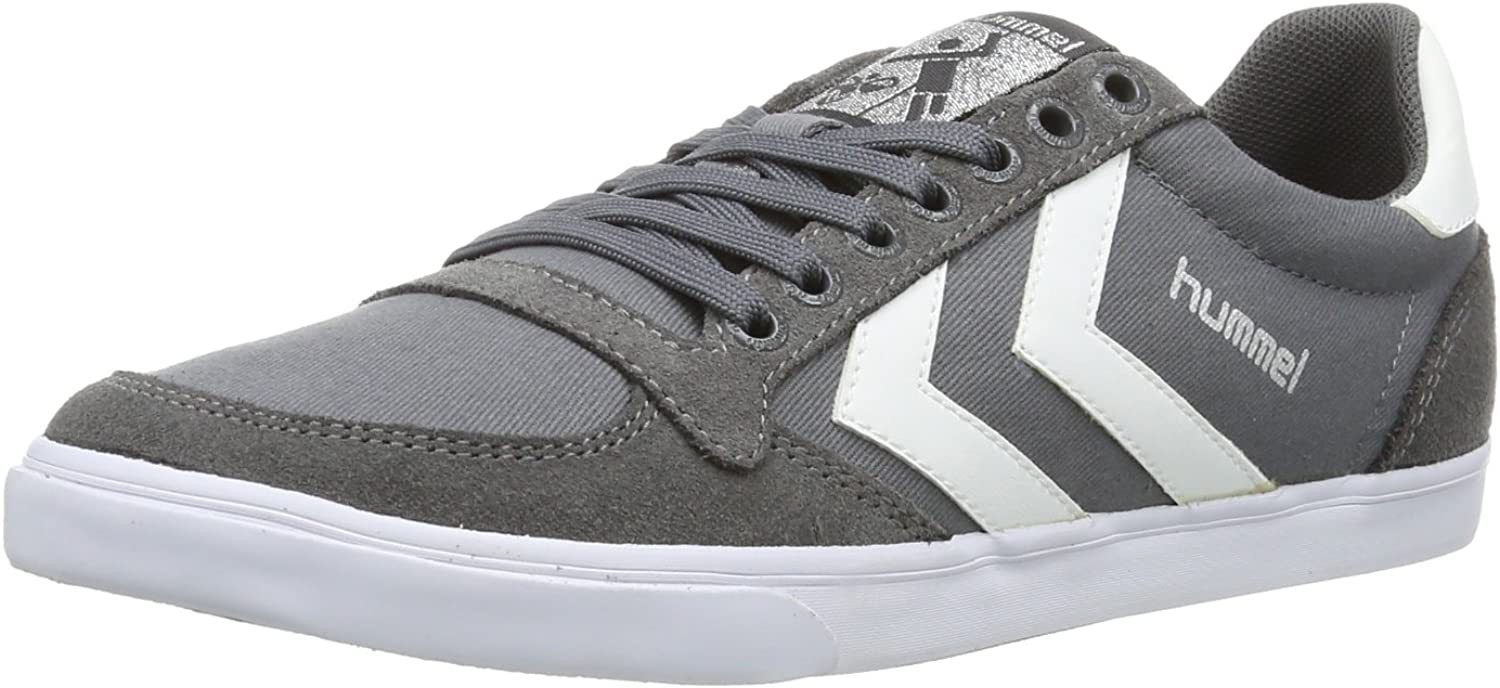Hummel Slimmer Stadil Canvas, Unisex Adults' Low-Top Sneakers