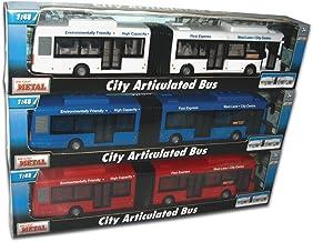 HARMONY Tachan - Autobus Articulado City Rojo 60322 Teama (CPA Toy Group Trading S.L. 90360322)