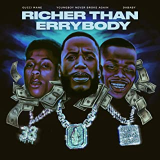 Richer Than Errybody (feat. YoungBoy Never Broke Again & DaBaby) [Clean]