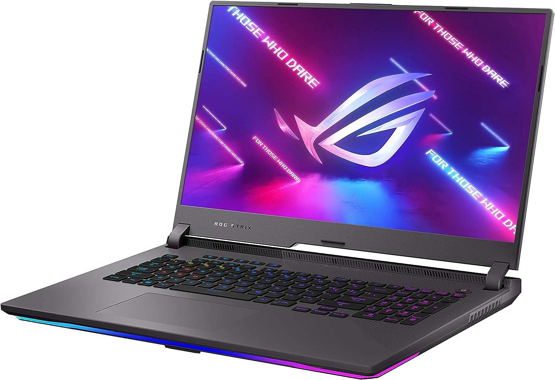 ASUS ROG Strix G17 Gaming Laptop, AMD Ryzen 9 5900HX, NVIDIA GeForce RTX 3070, 17.3
