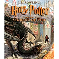 Harry Potter and the Goblet of Fire: The Illustrated Edition (Hardcover)