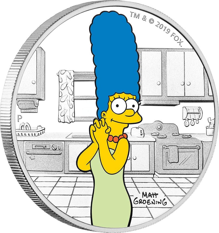 el estilo clásico Power Coin Marge Simpsons 1 Oz Moneda Plata 1    Tuvalu 2019  venta de ofertas