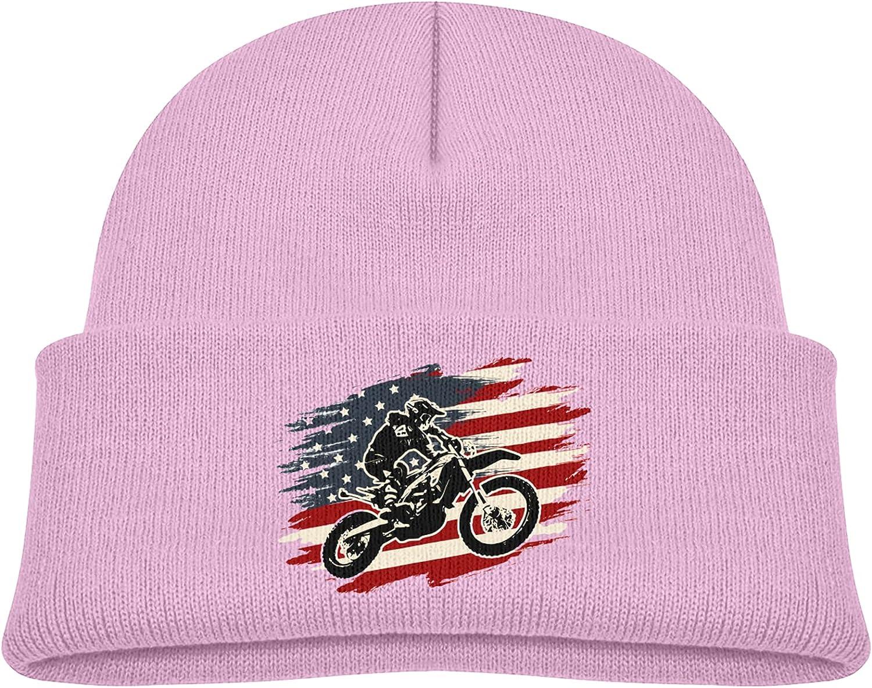 Dirt Bike Motocross American Flag Popular brand Winter Cap 5 popular Beanie Trendy Bump