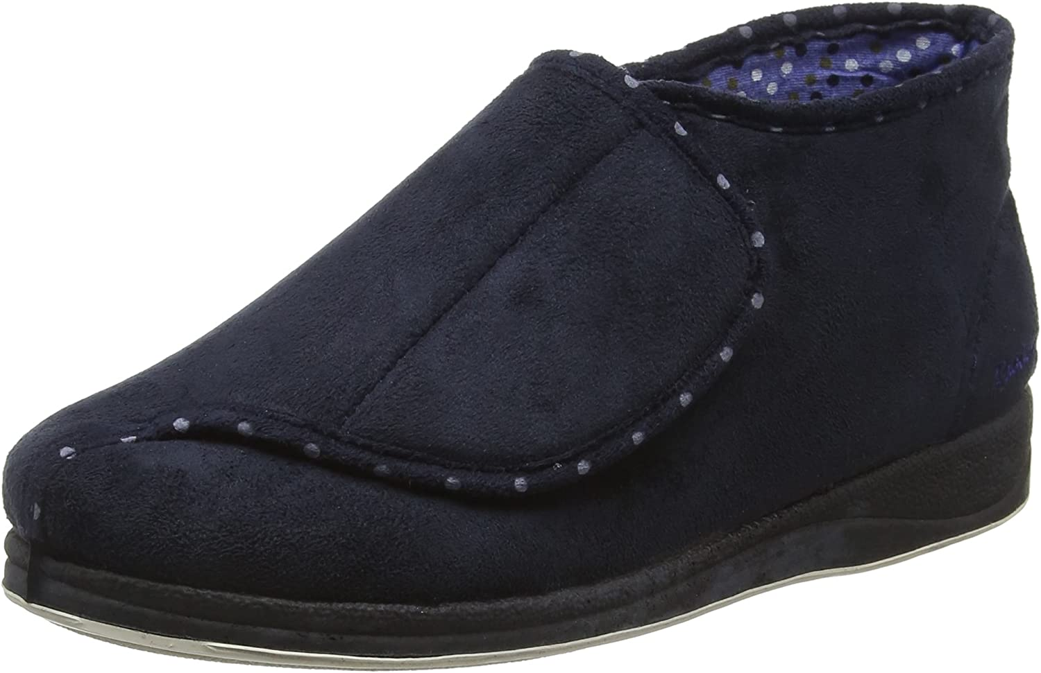 PADDERS Cherish - Navy (Textile) Womens Slippers