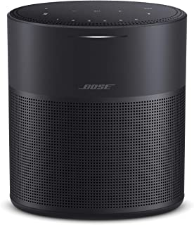 Bose Home Speaker 300, Triple Black, Smart Speaker with Bluetooth, Wi-Fi and Airplay 2