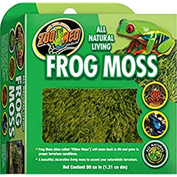 Zoo Med Frog Moss, 80 Cubic-Inches