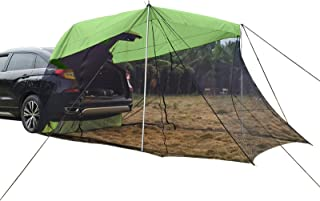 Trunk Tent, Car Travel Tent, Sunshade and Rainproof, Outdoor Self-Driving Trip Barbecue Camping Car Tail Extension Tent