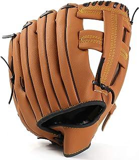 Wansson 野球 グローブ 軟式 グローブ 一般用 オールラウド 内野手 右投げ キャッチボール 初心者 多色選び 子供 少年 大人用 10.5 11.5 12.5 インチ 衝撃吸収パッド 内蔵 室内
