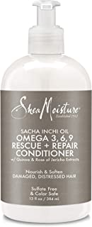 Shea Moisture Sacha Inchi Rescue & Rebuild Conditioner, 13 Fluid Ounce