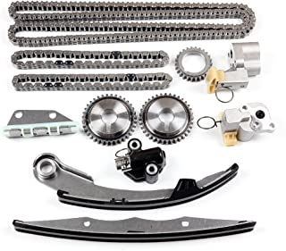 Engine Timing Part Chains Set Timing Chain Kits, SCITOO fits for Nissan Xterra Frontier 4.0L V6 DOHC Code VQ40DE 2005-2015 Replacement Timing Tools