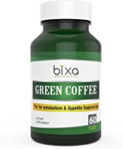 Green Coffee-Supports Weight Management Metabolic Boost Antioxidant Bean Extract Capsules 60 Veg Capsules 450 mg – bixa BOTANICAL Estimated Price : £ 14,99