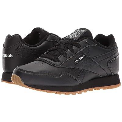 Reebok Kids CL Harman Run (Little Kid/Big Kid) (Black/Steel Gum) Kids Shoes