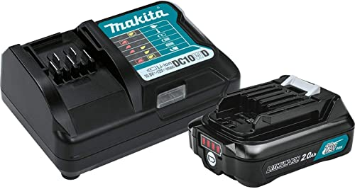 2021 Makita BL1021BDC1 online 12V Max CXT Lithium-Ion Battery and Charger online sale Starter Pack online sale