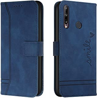 SHUNDA Case for Huawei Y7p, PU Leather Wallet Flip Protective Phone Case Cover with Card Slots Shockproof Cover for Huawei...