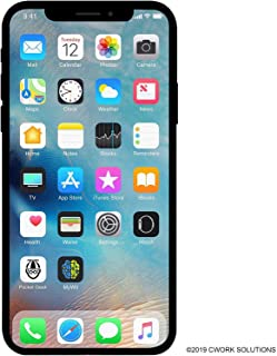 Apple iPhone X, 64GB, Silver – for AT&T/T-Mobile (Renewed)