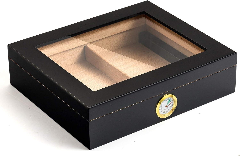 100% Cedar Wood Cigar Humidor Desktop Box Handmade Max 65% OFF Hu Low price