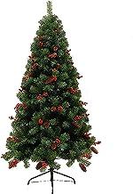 SLZFLSSHPK Kerstboom kunstmatige dennenappel Xmas bomen gemakkelijk montage scharnierend kunstmatige kunstmatige metalen s...
