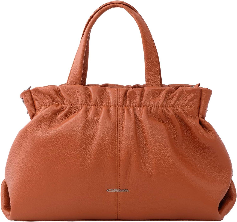 Giorgio Ferretti Milwaukee Mall Excellent Soft Handbag Outlet SALE Leather Genuine Satchel