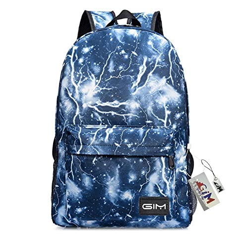 35461969bf Global I Mall Unisex Galaxy School Backpack Canvas Rucksack Laptop Book Bag  Satchel Hiking Bag