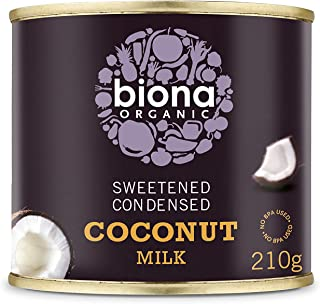 Biona Organic Sweetened Condensed Coconut Milk, 210g