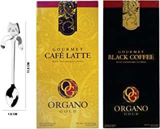 Organo Gold Combo Pack 1 Box organo gold black coffee And 1 Box organo latte + Include Gift