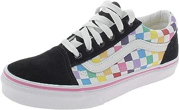 Vans Girls' Old Skool Checkerboard Skate Shoe