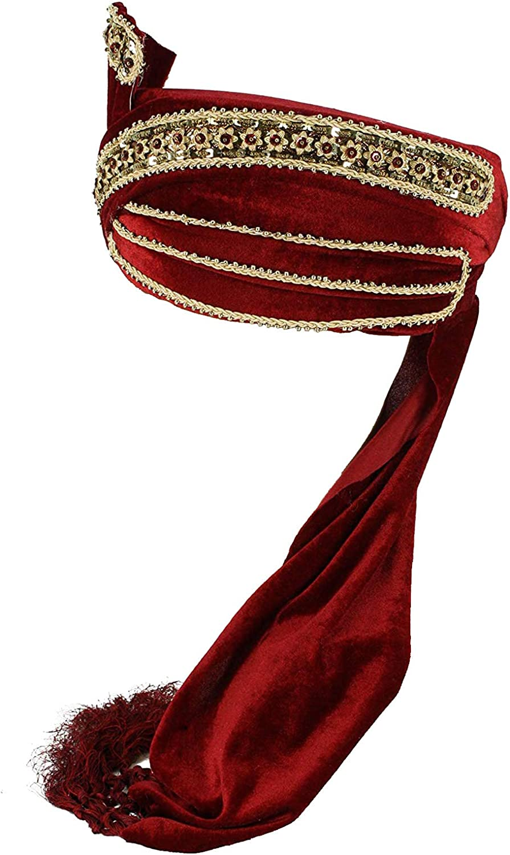 Men's Industry No. 1 Alternative dealer King Turban Costume Hat