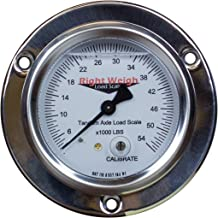 250-54-FF Tandem-Axle Liquid-Filled Exterior Analog Axle Load Scale - For Single Height Control Valve Air Suspensions