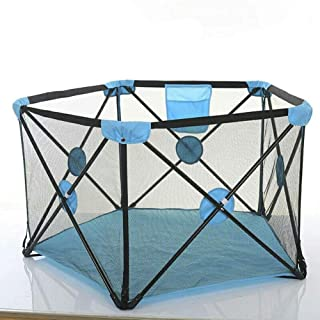 Baby Fence Safety Playpen Tent Ball Pit Pool Secure Easy Fold Playpen With Breathable Mesh