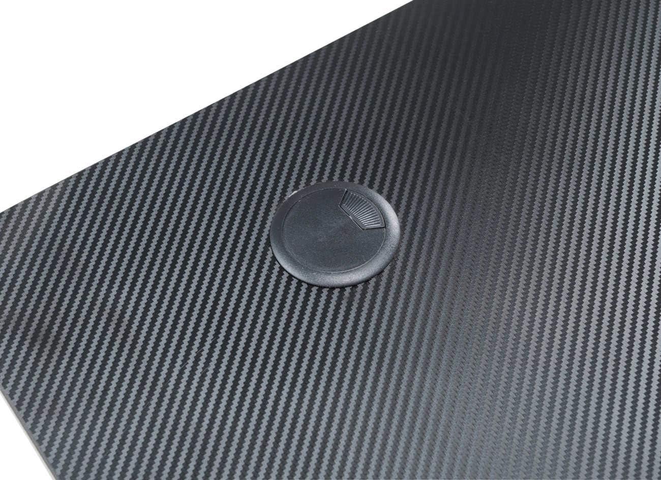 Couleurs:Noir//Rouge CLP Table Gaming Torrance I Table Gamer pour PC Ou Consoles I Table Ordinateur Hauteur 74 cm
