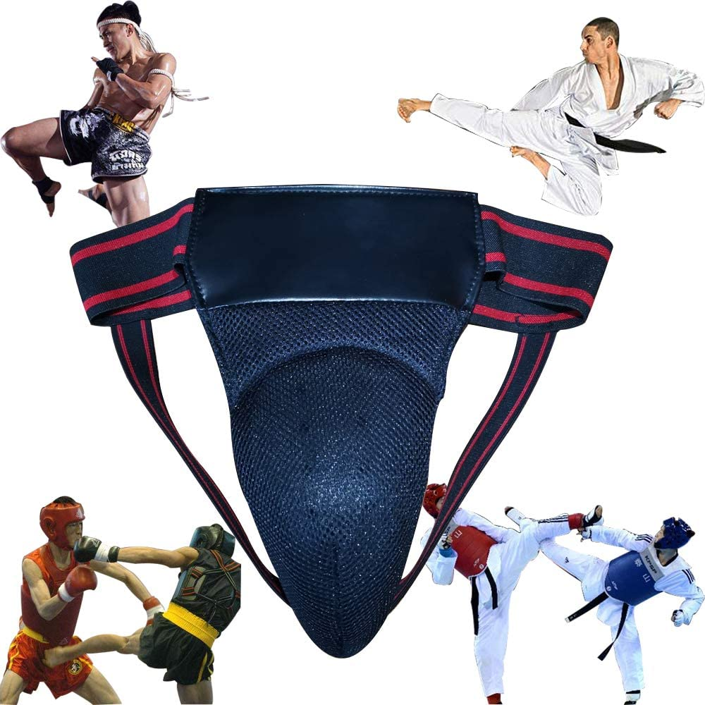 Mens Groin Protector Protective We OFFer at cheap prices Cup Gua Sales results No. 1 Boxing Abdominal