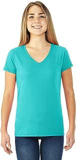 Ladies SofSpun Jersey V-Neck T-Shirt - SFJVR