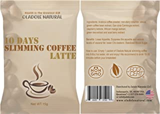 10 Day Slimming Coffee Latte by Oladole Natural